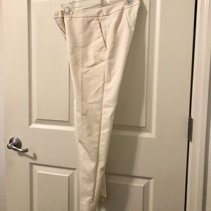White Business Pants